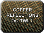 Copper Reflections 2x2 Twill