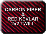 Carbon Fiber/Red Kevlar