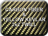 Carbon Fiber/Yellow Kevlar
